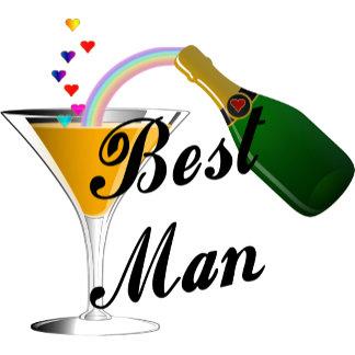 Champagne Toast Best Man