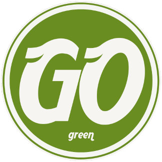 ➢ Go Green Logo Emblem