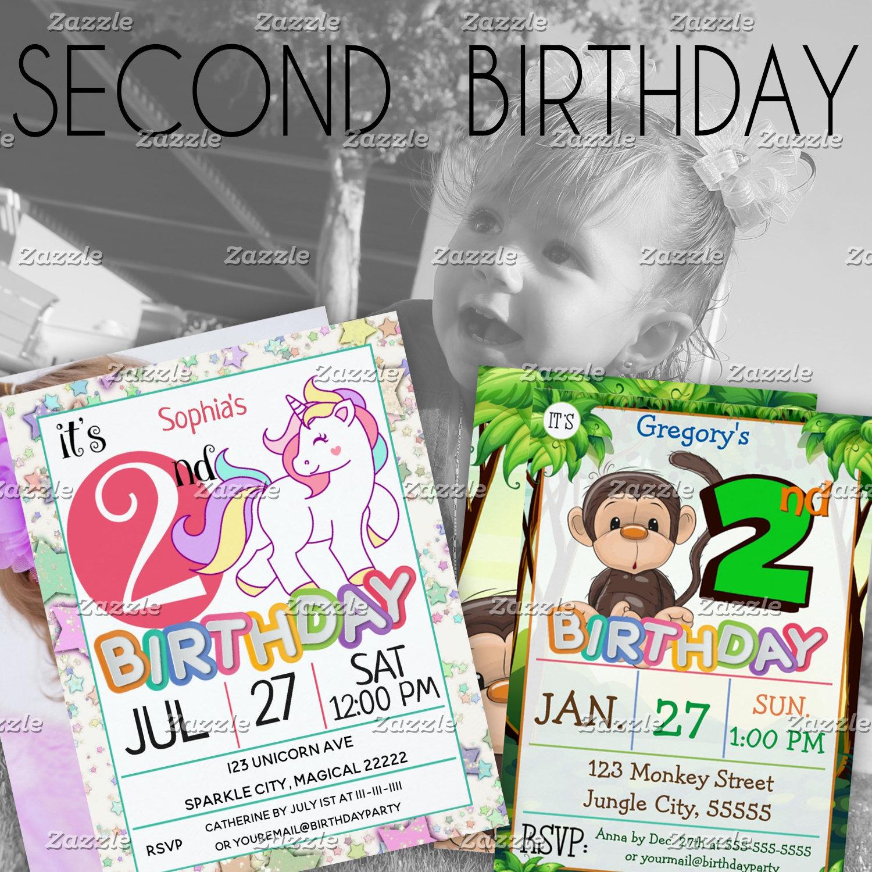 - 2nd Birthday  (2-year-old)