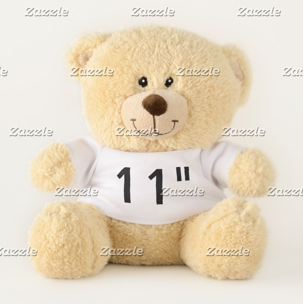 "11"" Teddy Bears - Favorite Quirky Font Examples"