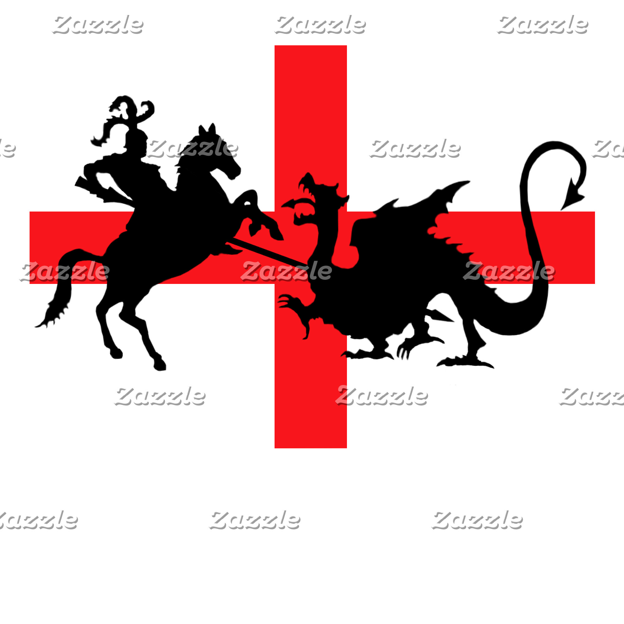 St George's Day gifts-George and the dragon theme