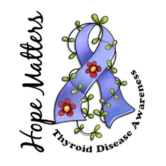 Flower Ribbon 4 Hope Matters Thyroid Disease