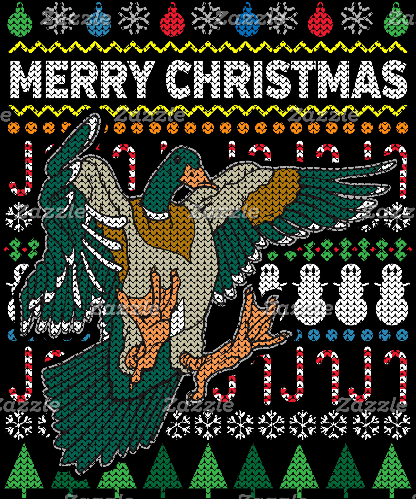 Duck Ugly Christmas Sweater