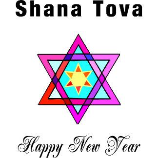Shana Tova Jewish Star