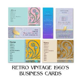 RETRO VINTAGE 1960's Business Cards