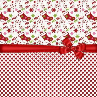 Christmas Stocking HO HO HO