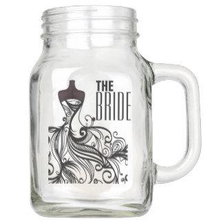 Wedding Drinkware Mason Jars & Flasks