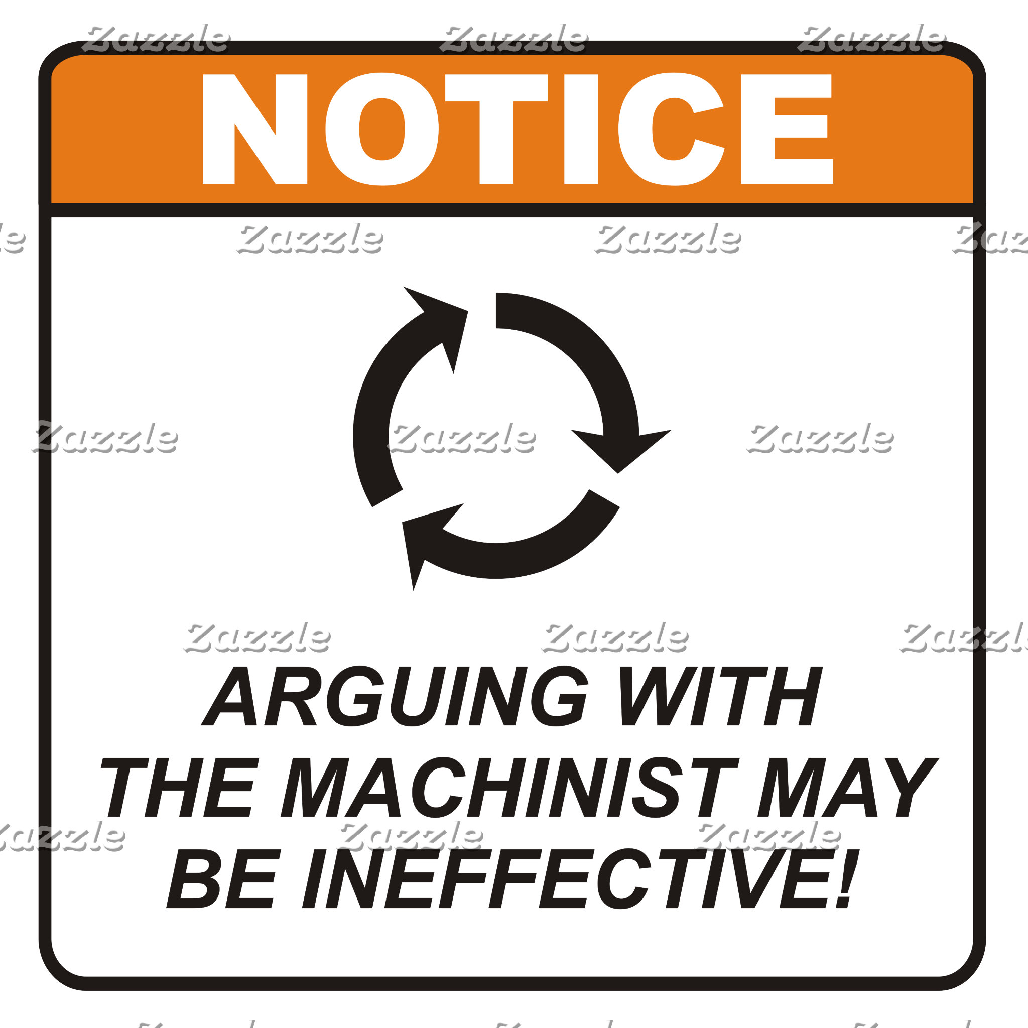 Arguing with the Machinist
