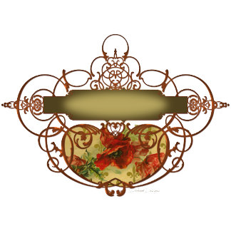Poppy Scroll Ornate Banner