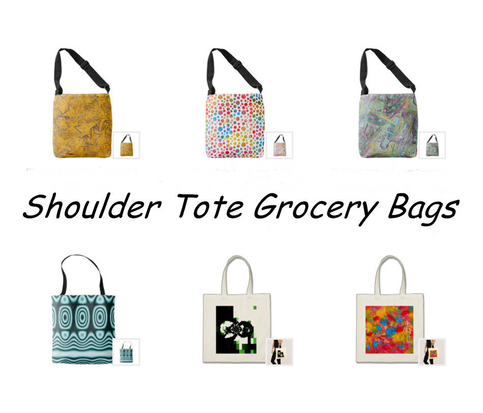 Shoulder Tote Grocery Bags