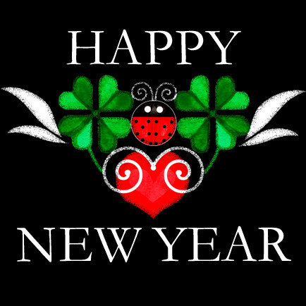 New Year Party and Greetings