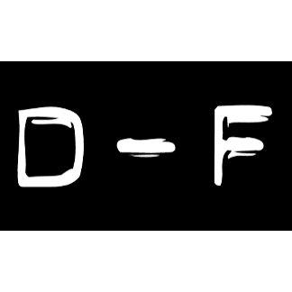 D - F