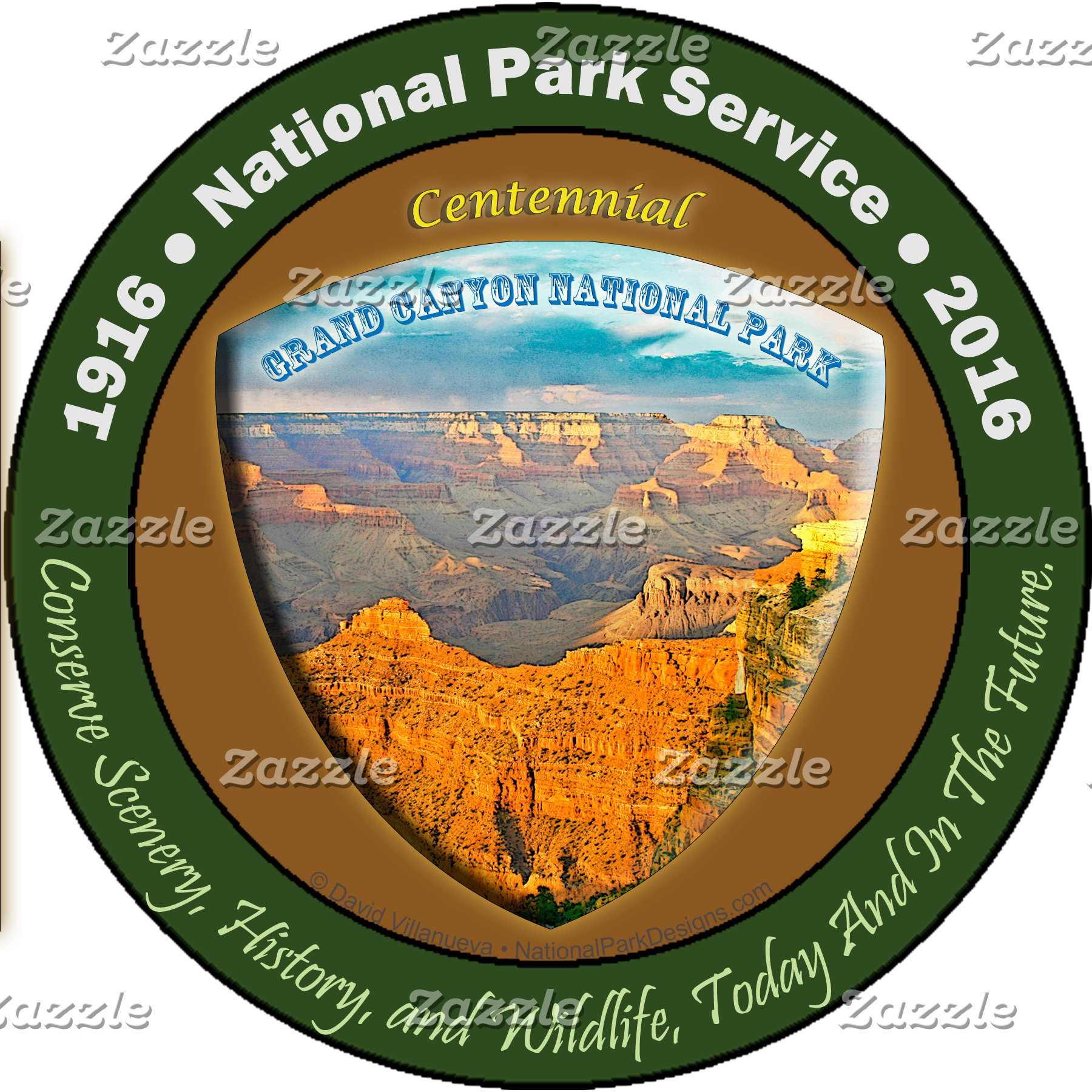 NPS Centennial - Grand Canyon View