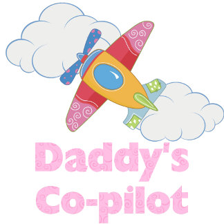 Daddy's Co-pilot (girl)