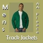 Mens AA Fleece Track Jackets