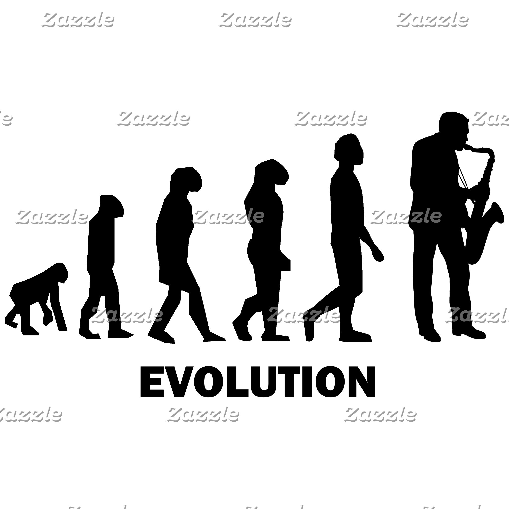 evolution saxophone player