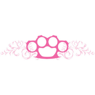 Pink Brass Knuckles T-shirts and Gifts