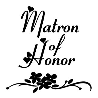 A Classic Matron of Honor