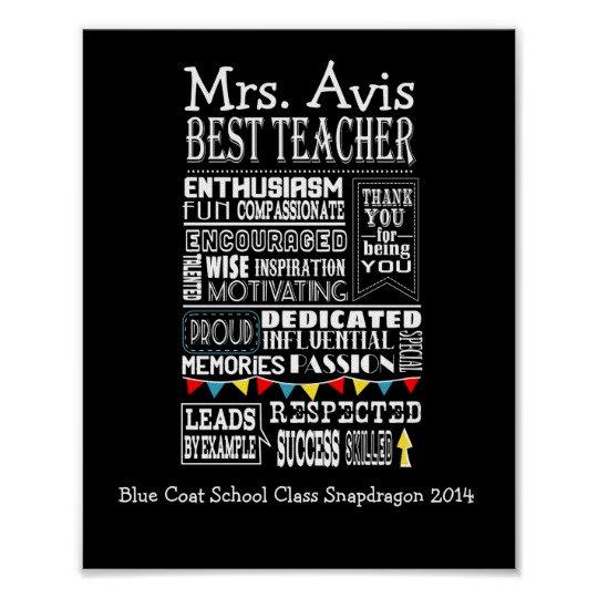 Teacher Posters & Cards