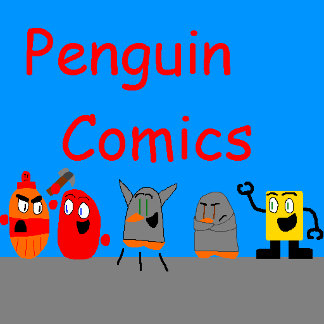 Penguin Comics logo