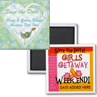 Save Date Magnets