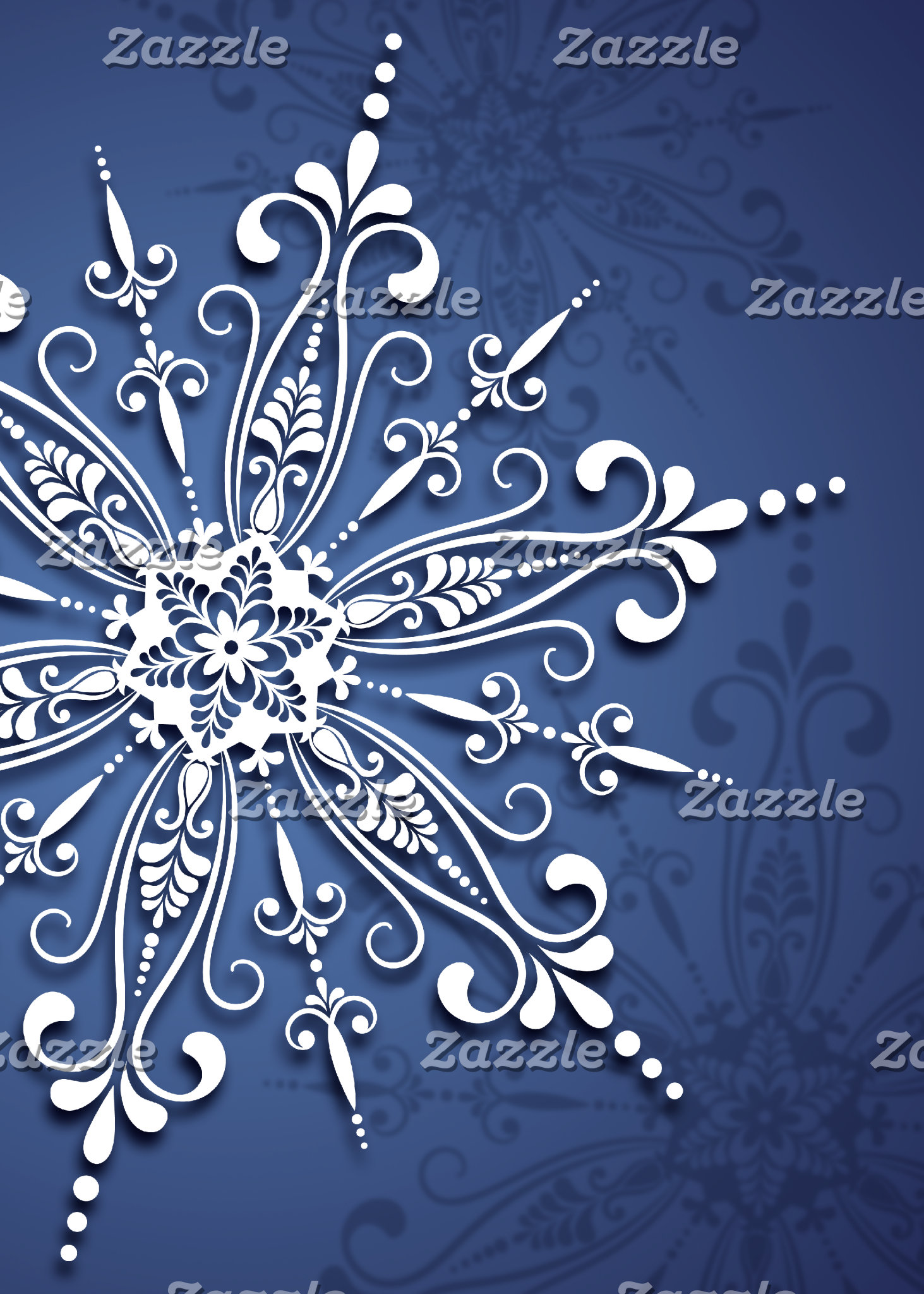 Holiday Snowflake Cards and Gifts