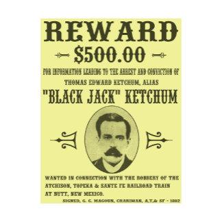 Black Jack Ketchum Wanted