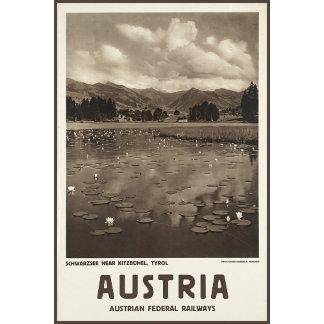 Austria Schwarzee near Kitzbhel Tyrol