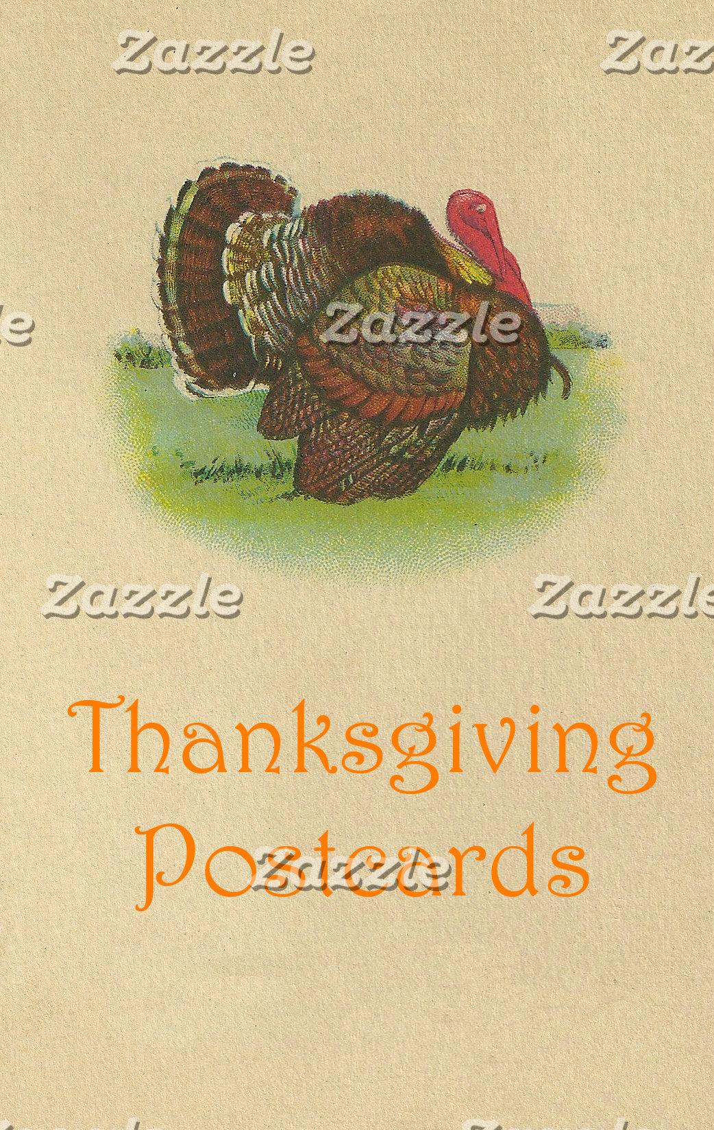 Thanksgiving Postcards