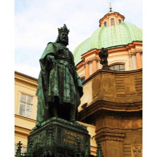 King Charles statue, Prague