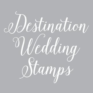 Destination Wedding Stamps