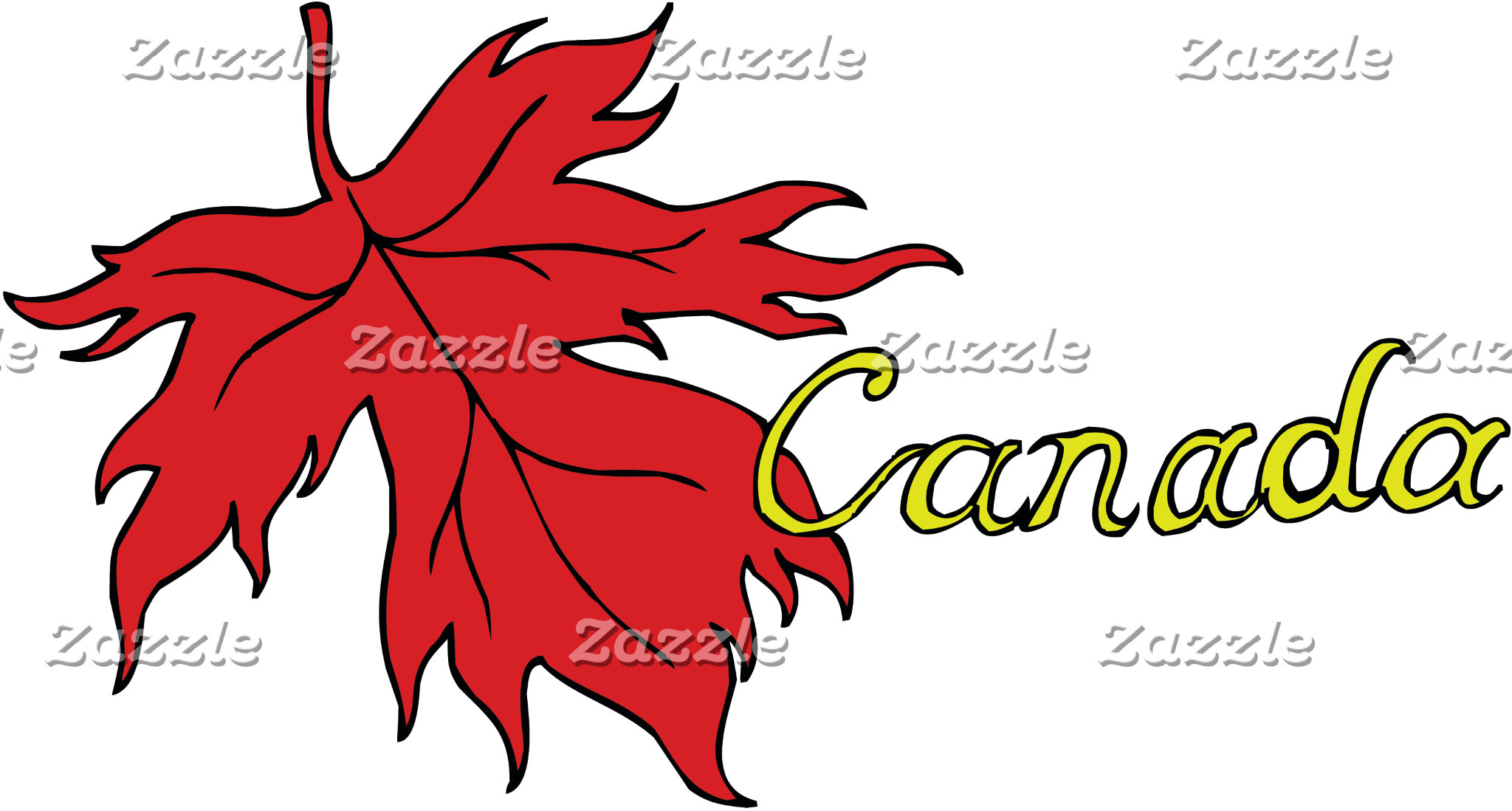 Canada T-Shirt Gifts Cards