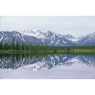 Alaska Range, Alaska.