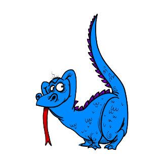 Naughty Blue Dragon