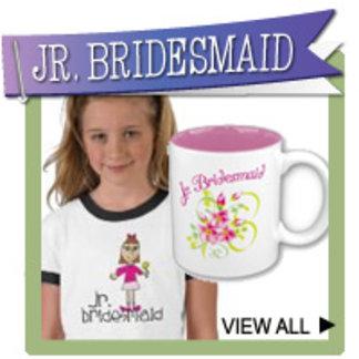 Jr. Bridesmaids Gifts, T-shirts and Wedding Favors