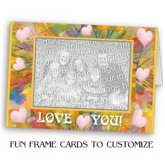 Fun Frame Cards to Customize