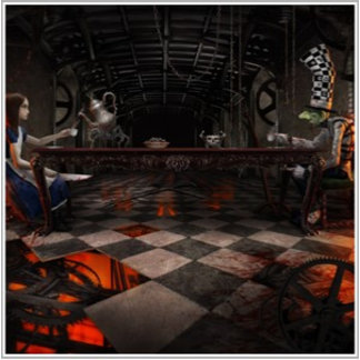 American McGee's Alice TeaParty Poster