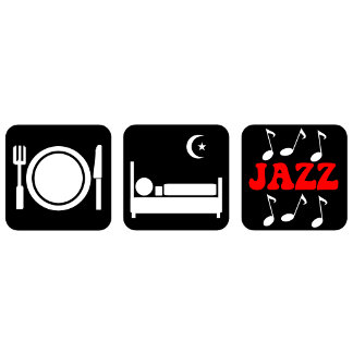 Eat sleep jazz