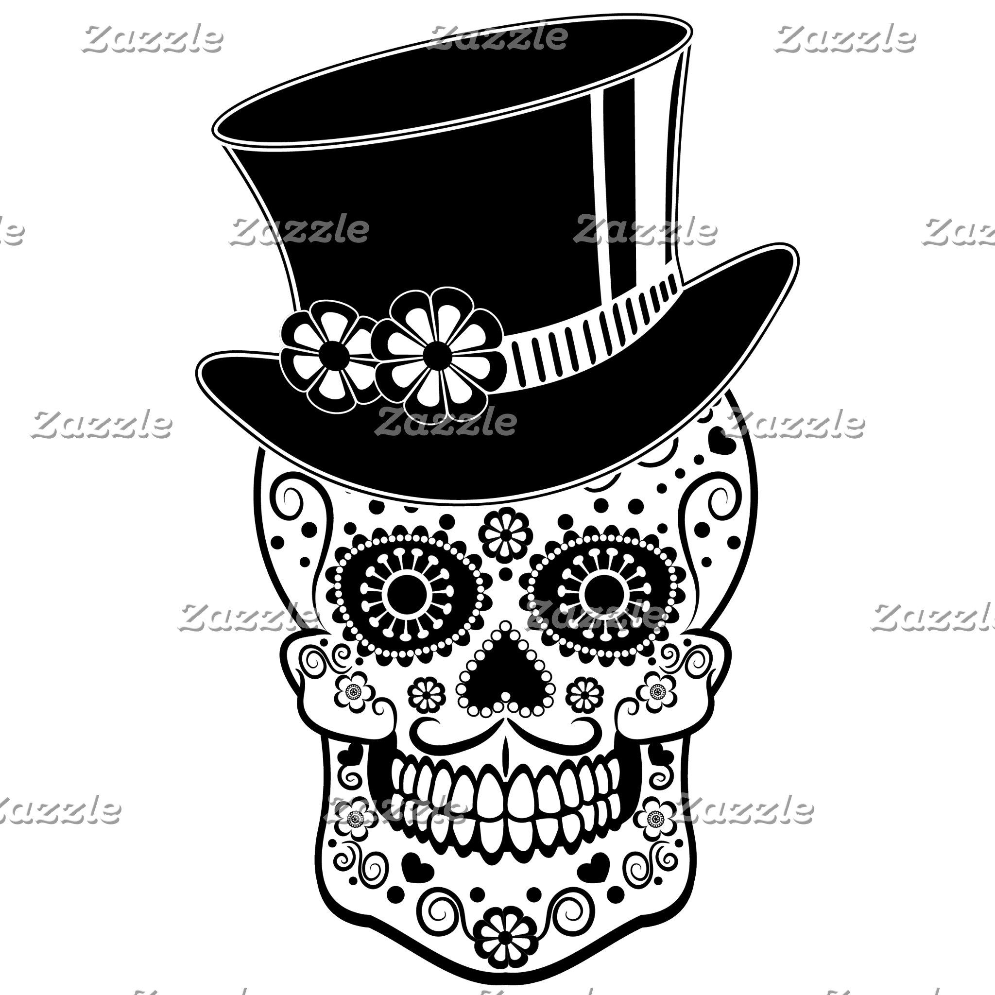 Gentleman Sugar Skull