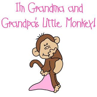 Grandma and Grandpa's Monkey-Pink