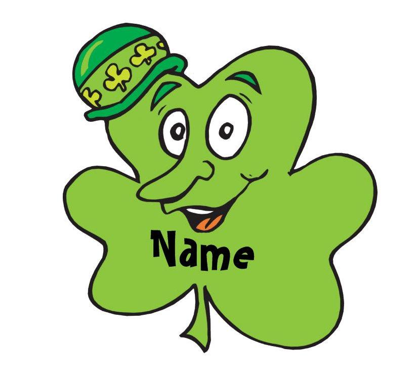 Personalized Irish Name T-Shirts
