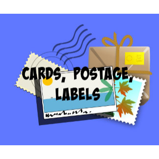 CARDS, Postcards, Greeting Cards, Postage Stamps..