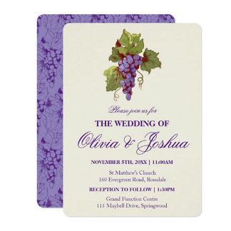 Purple Grapes Vineyard