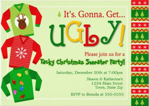 Christmas / Winter Invites