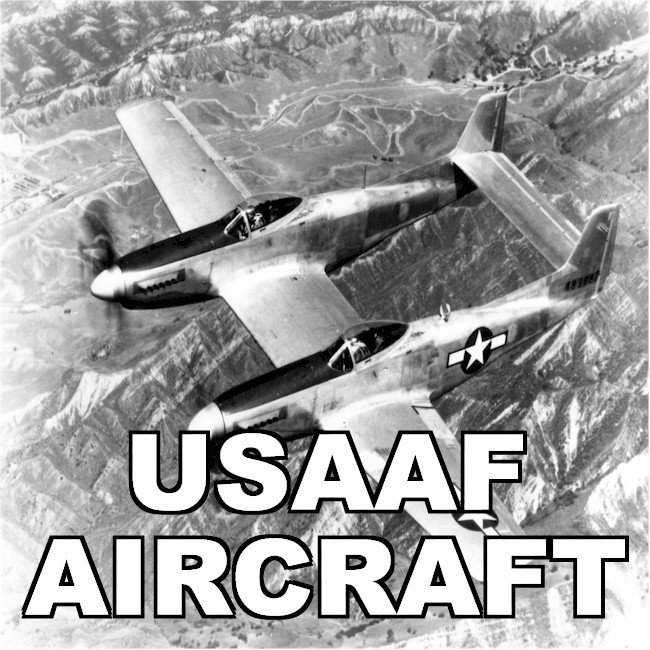 Army Air Forces USAAF Aircraft
