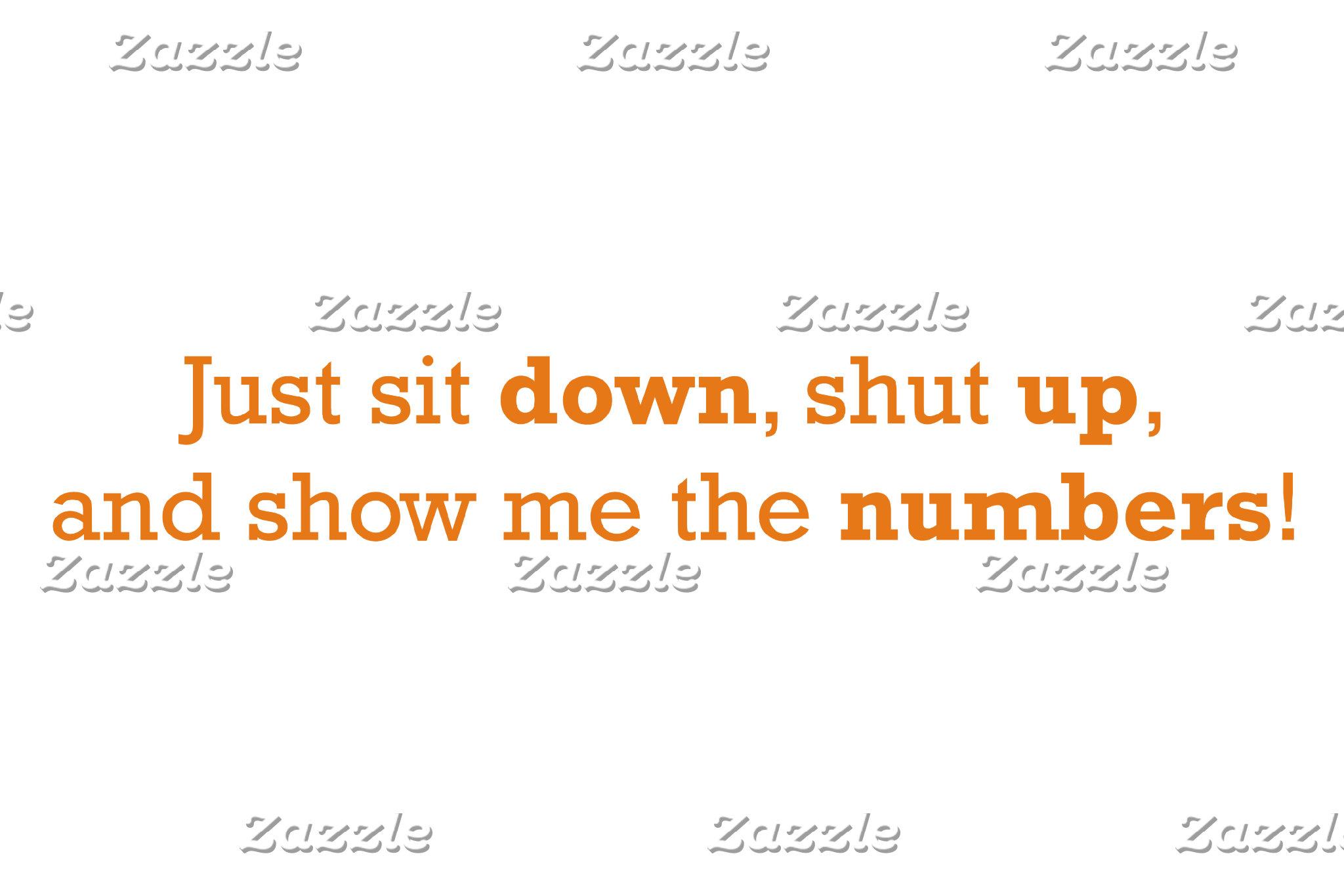 Sit Down / Numbers