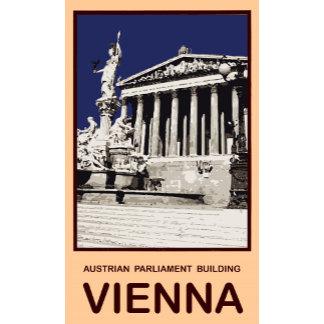 Austrian Parliament Building Vienna