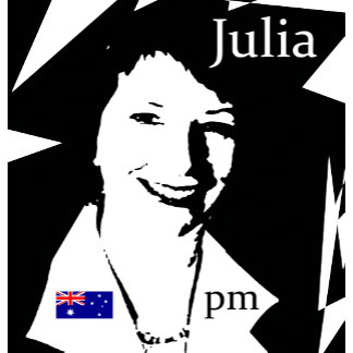 Julia Gillard T-shirts, Badges, Mugs, Gifts