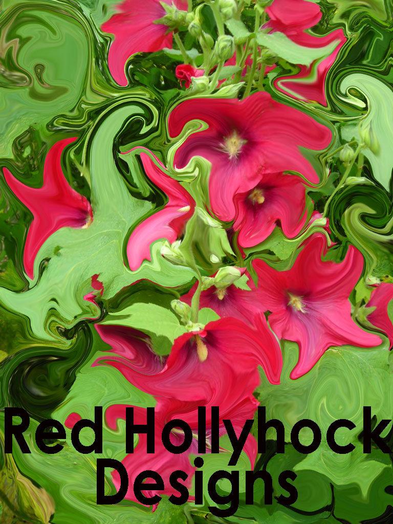 Red Hollyhock Designs