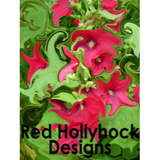 Red Hollyhock Designs